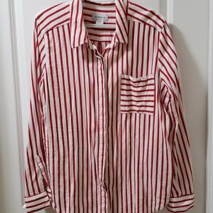 Liz Claiborne women's striped button down